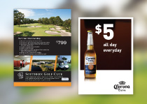 Southern Golf Club: Marketing material