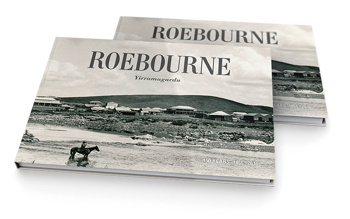 Front cover of Roebourne Yirramagardu, City of Karratha.