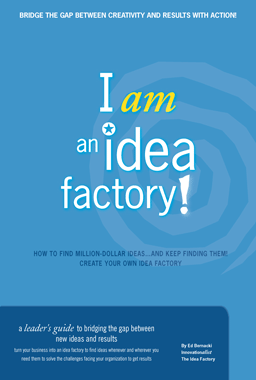 The Idea Factory: I am an idea factory book cover