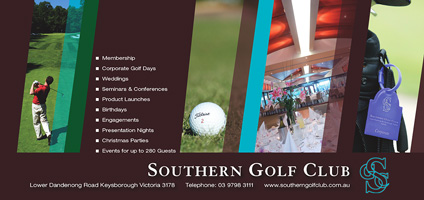 Southern Golf Club: Brochure