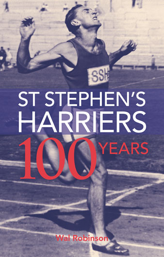 St Stephen's Harriers—100 years: Cover