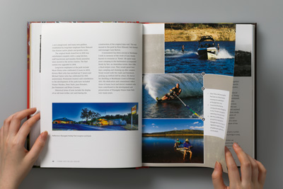Photograph of pages 40–41.