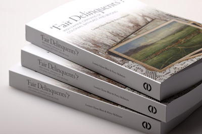 Stack of three books showing cover and spine thickness.