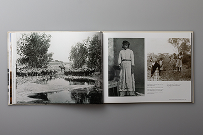 Page spread showing Roebourne, early 1900s.